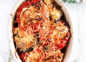 Healthy Eggplant Parmesan (Paleo, Low Carb)