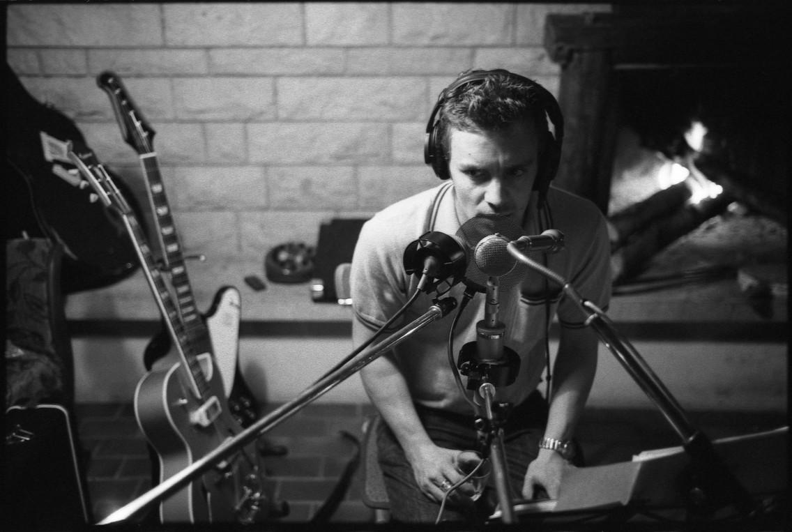 """enregistrement de l'album """"Dans ton lit"""" dans les Franches-Montagnes © Pablo Fernandez"""