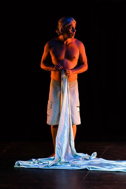 Gli amori d'Apollo e di Dafne. F. Cavalli. Peneo. Teatro Principal. Burgos