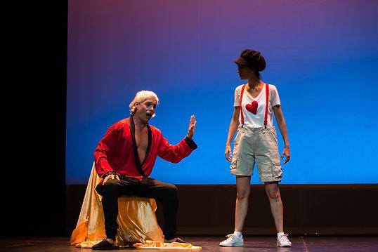 Gli amori d'Apollo e di Dafne. Giove. F. Cavalli. Teatro Principal. Burgos. Jose Mena Polo/ Contratenor