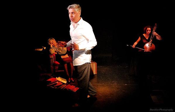 El saber Prohibido. Obra de teatro musical. Jose Mena Polo/ Contratenor