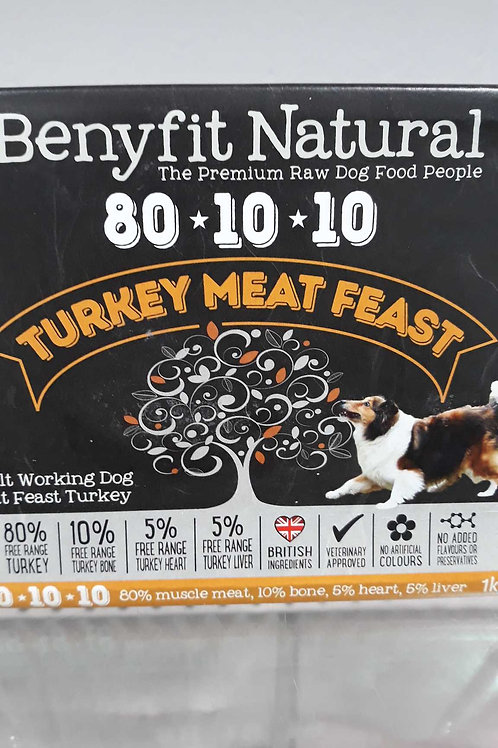 Benyfit natural Turkey Meat Feast 1kg