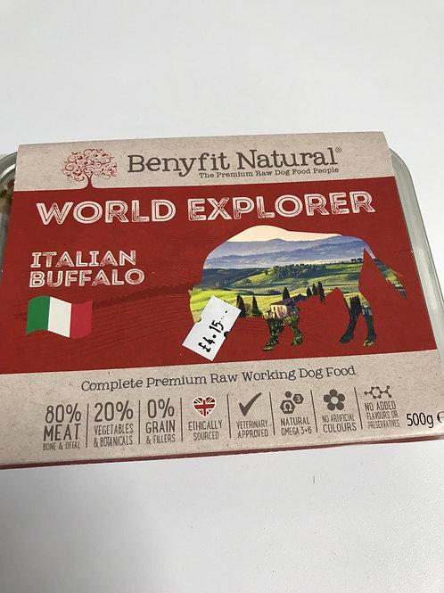 Benefit Natural World Explorer Italian Buffalo 500g