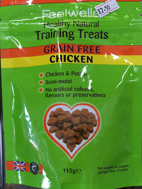 Feelwells Training Treats Grain free Chicken