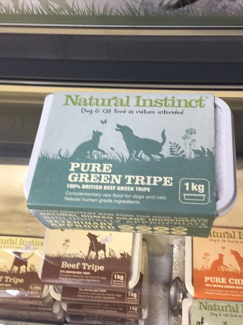 Natural Instinct pure green tripe 1KG