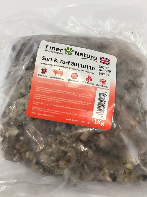 Finer by nature surf and turf kg