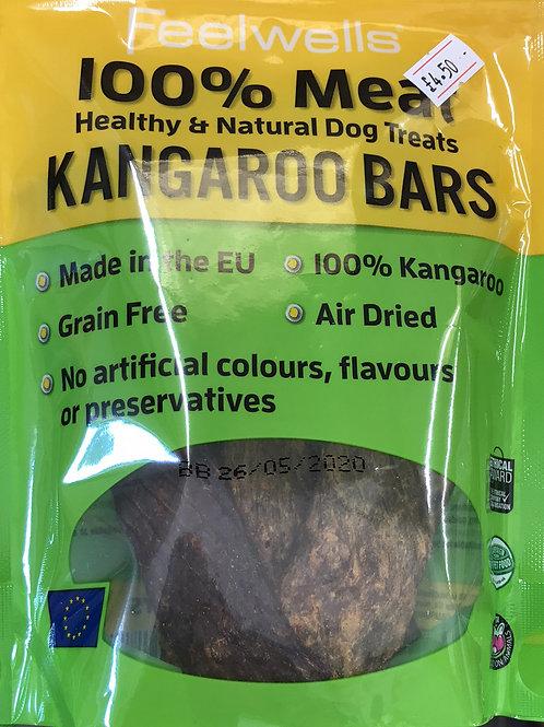 Feelwells 100% Meat Kangaroo bars