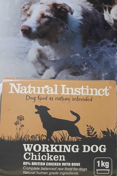 Natural Instinct working dog Chicken 1kg