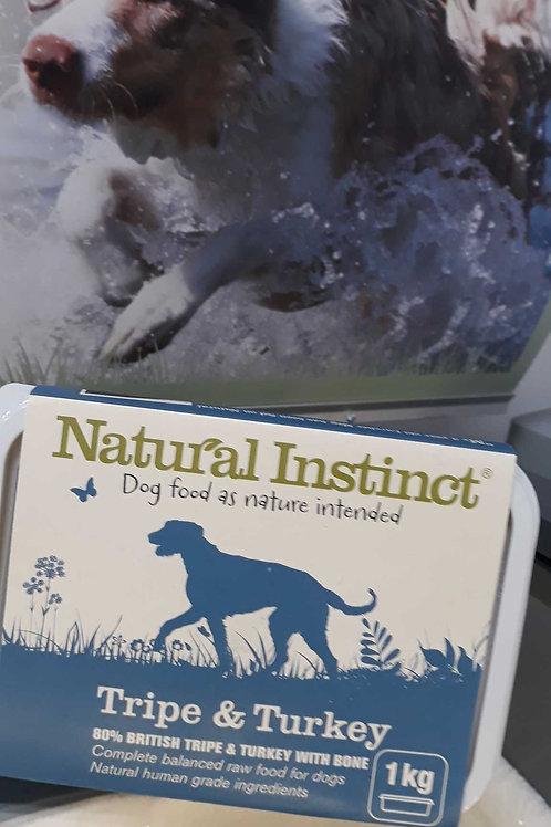 Natural Instinct Tripe & Turkey 1kg