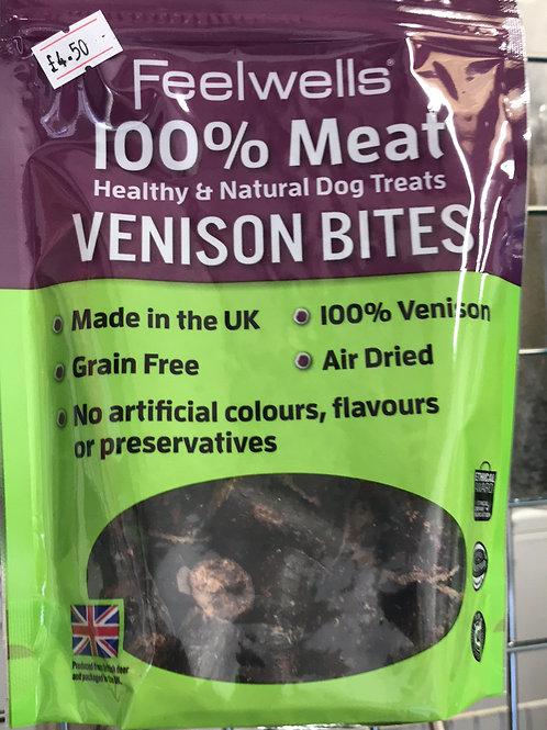 Feelwells 100% Meat Venison bites