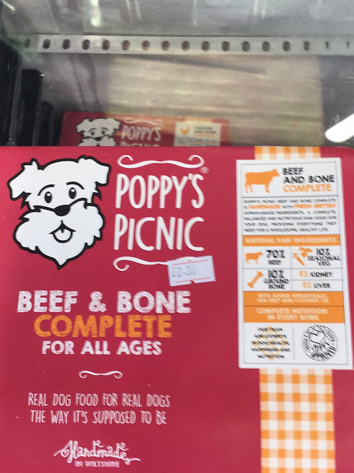 Poppy's Picnic Beef and Bone Complete