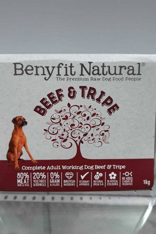 Benyfit natural Beef & Tripe 1kg