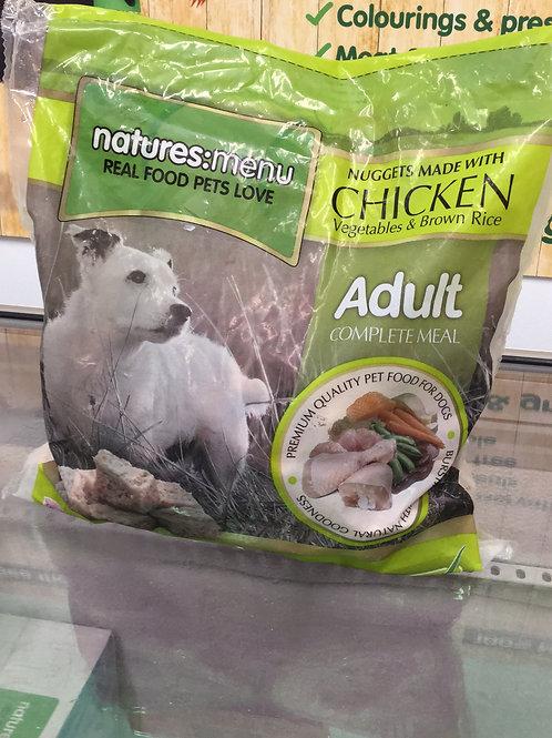 Natures Menu Chicken, Vegetables & Brown Rice 1Kg