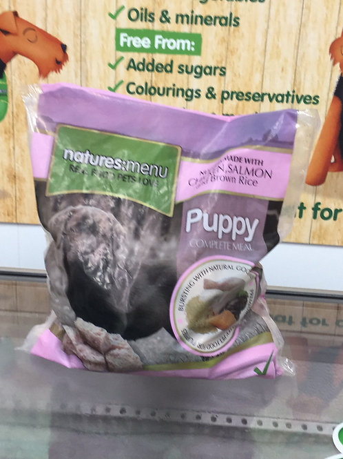 Natures Menu Puppy Chicken, Salmon & Brown Rice 1Kg