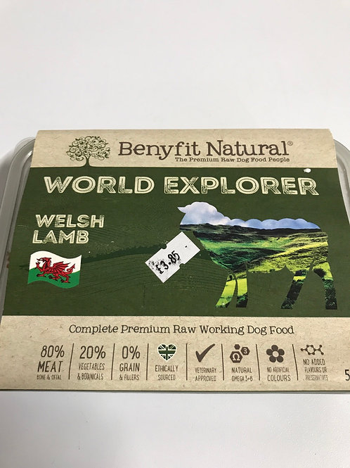 Benefit Natural World Explorer Welsh Lamb 500g