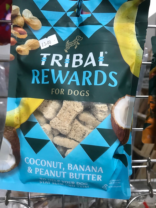 Tribal Rewards125g  Coconut, Banana & Peanut Butter