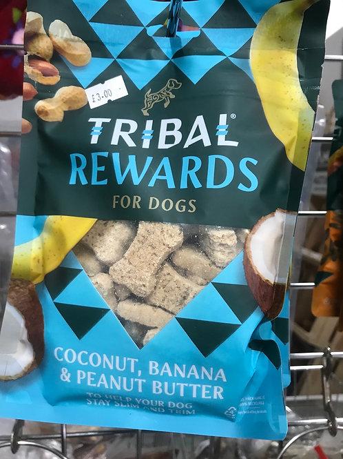 Tribal Rewards125g  Coconut, Banana & Peanut Butter
