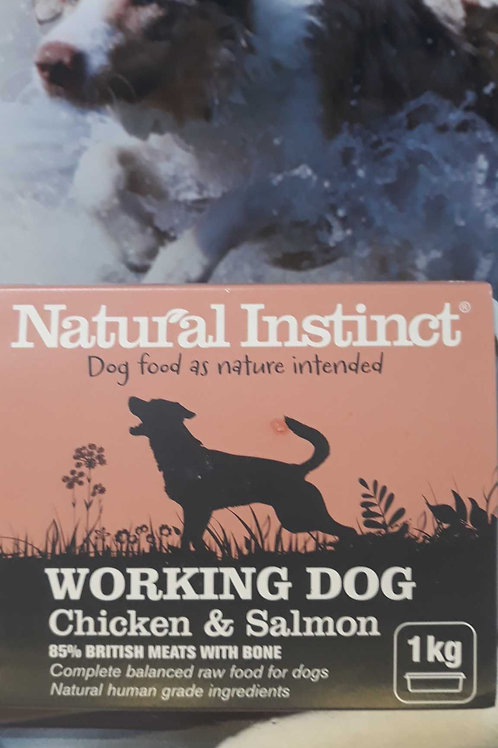 Natural Instinct working dog Chicken &Salmon 1kg