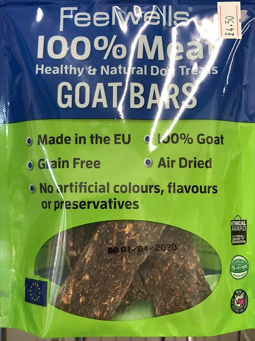 Feelwells 100% Meat Goat bars
