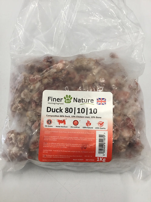 Finer by nature Duck 80.10.10 kg