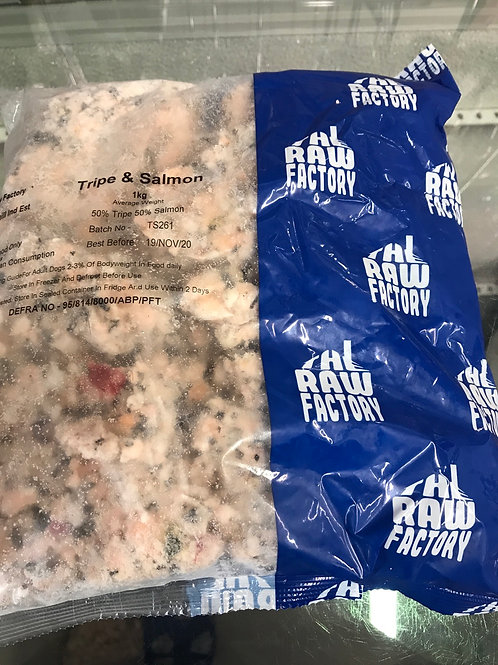 TRF Tripe & Salmon 1kg