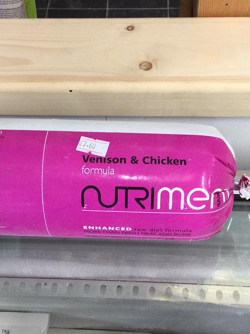 Nutriment Venison and Chicken 1.4KG