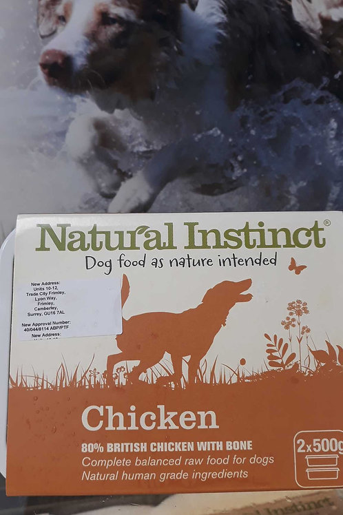 Natural Instinct Chicken 2x 500g
