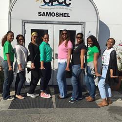 MLK Day at the SAMOSHEL Shelter