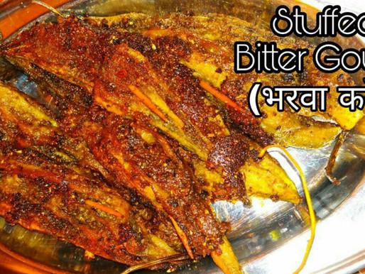 Bharwa karele | Stuffed Bitter Gourd – भरवा करेले