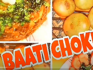 लिट्टी चोखा की आसान रेसिपी /Homemade bati chokha