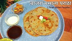 bajra masala paratha