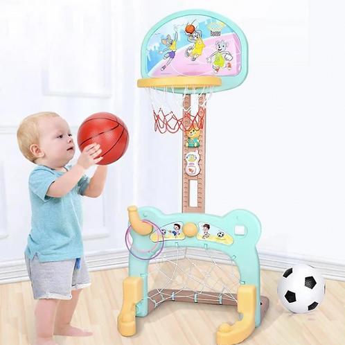 2 in 1 Basketball & Football Set