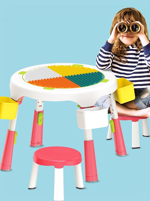 Foldable Building Table Play-set