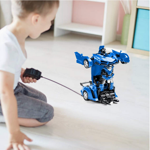 Kids Transform Car Robot