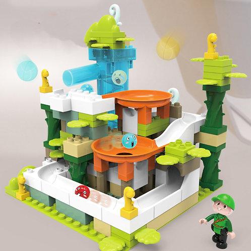 Puzzle Track Construction (Toy-Set)