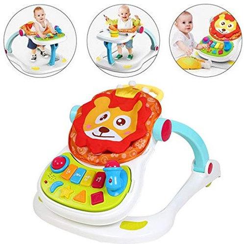 4 in 1 Multi Functional Entertainer Lion Baby Walker