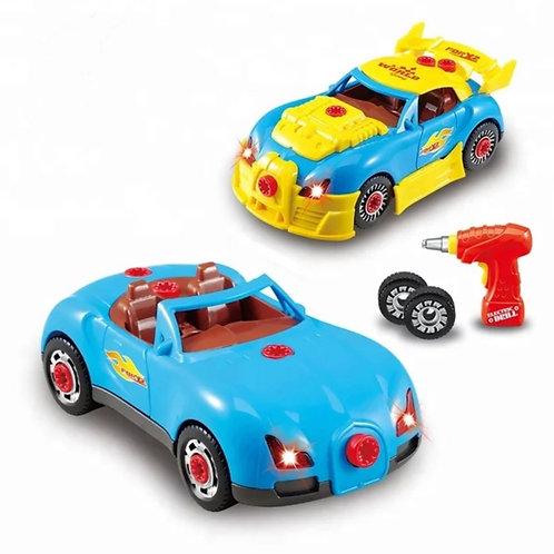 Take Apart Racing Car 2 in 1