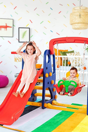 Climber and Swing Play-Set 3 In 1
