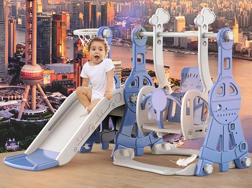 Baby Home Multi-Function Slide Swing