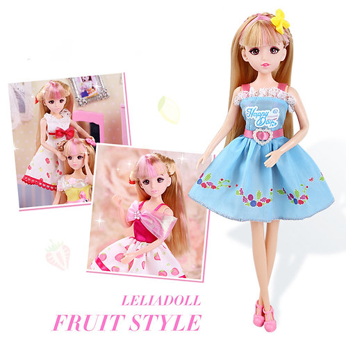 Fruit Theme Party Dress-Up Doll