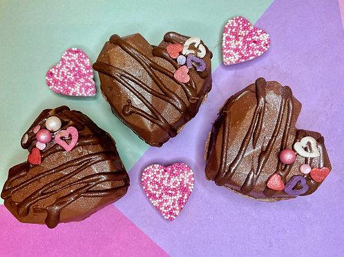 Heart Chocolate Bomb