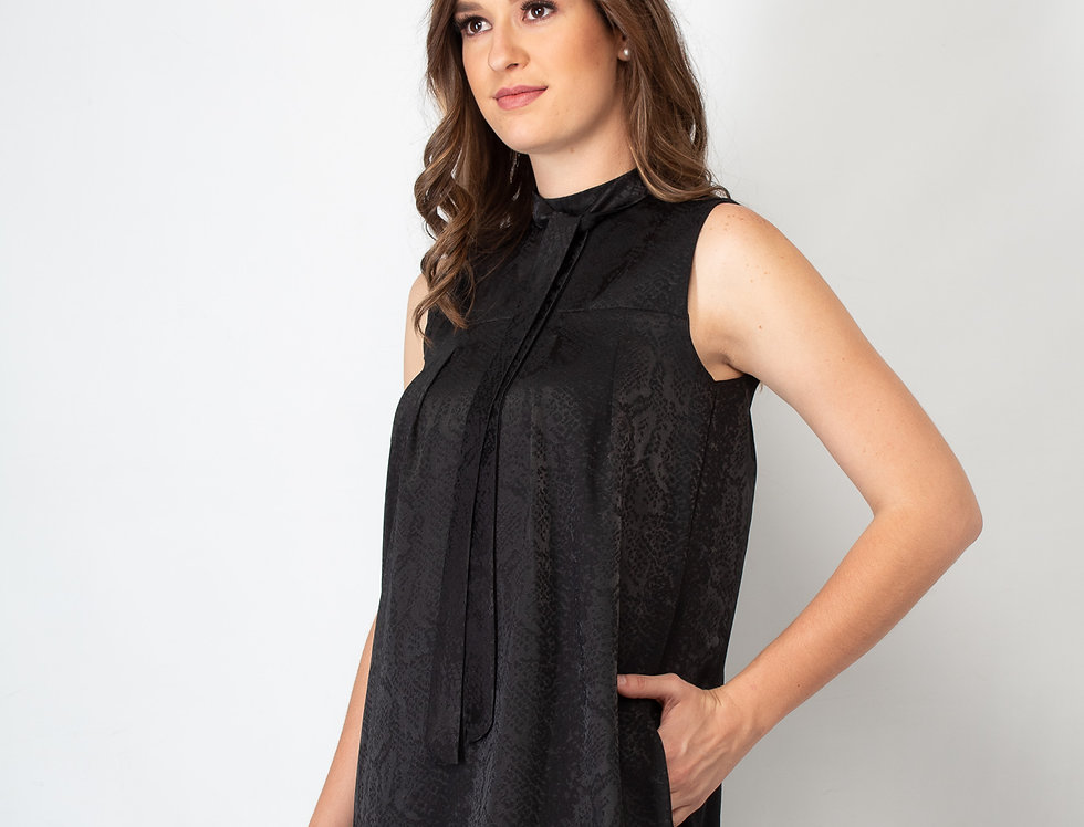 Vestido Negro Víbora