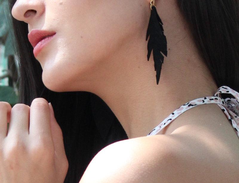 Arete doble pluma de ante