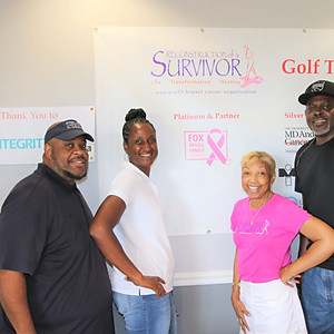 Reconstruction of a survivor third annual golf tournament