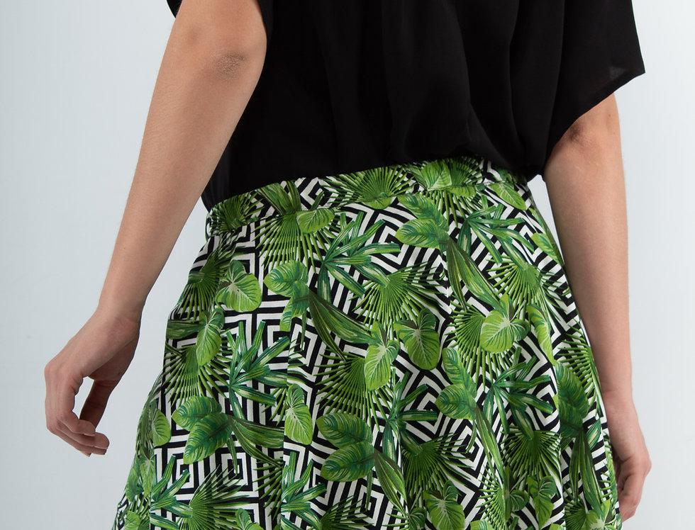 Short falda tropical
