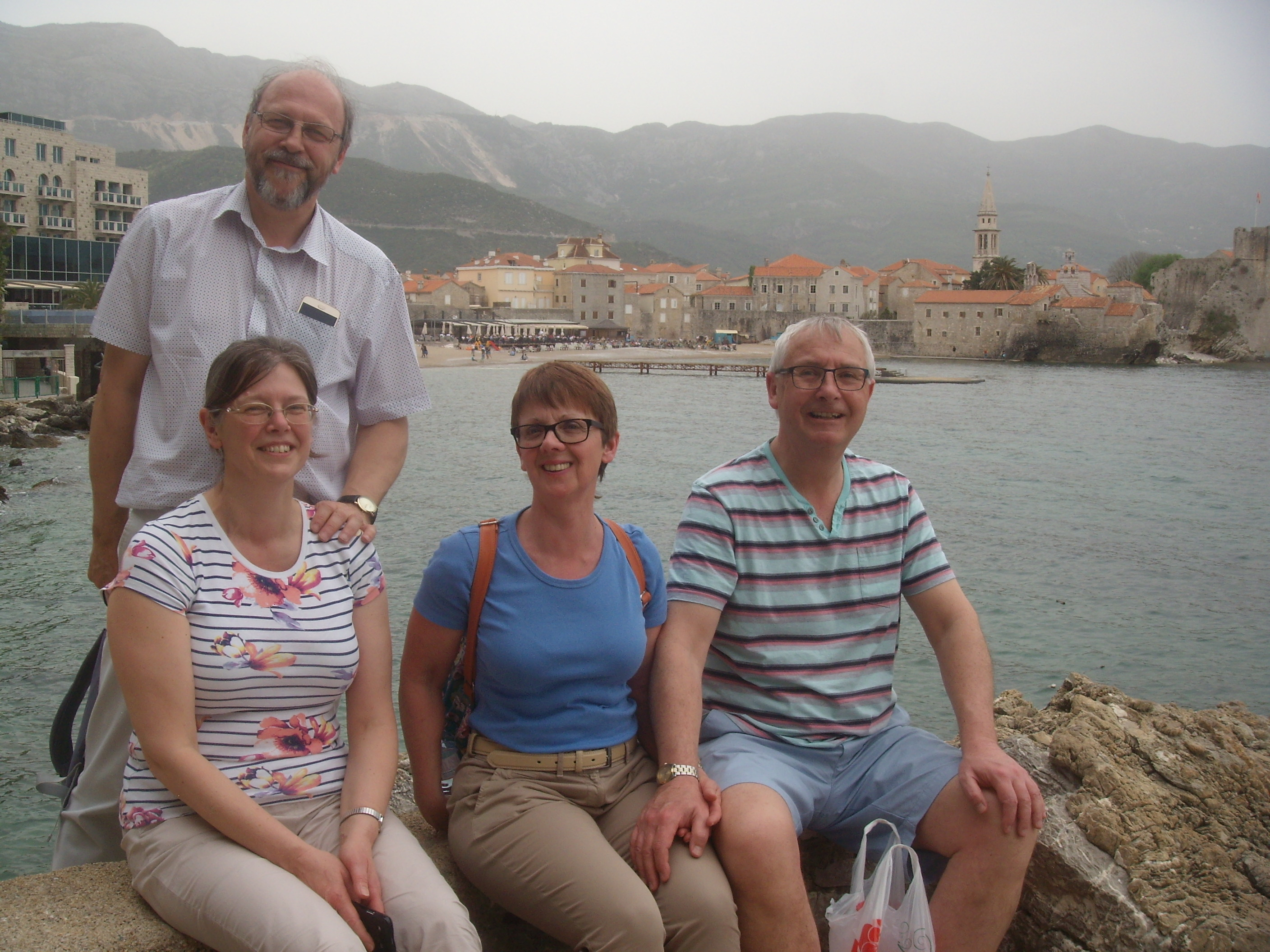 Mark and Ruth Basten, Pete and Liz Brown