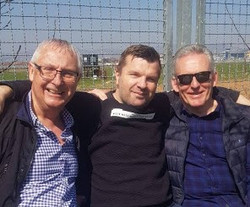 Bro Dzenan with Pete & Rob - March 2019