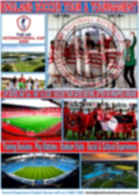ENGLAND SOCCER TOUR AND TOURNAMENT 2020.