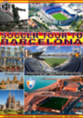 SOCCER TOUR TO BARCELONA - SABADELL - OL
