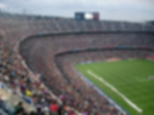 You could experience the famous atmosphere on matchday in the Camp Nou Stadium